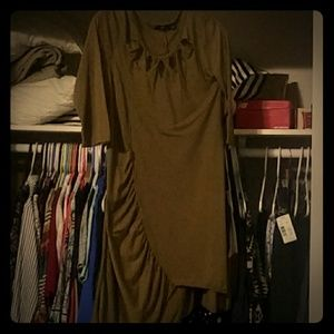 Olive Green Dress/Top